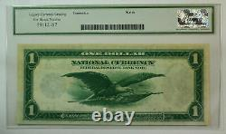 1918 $1 Un Dollar Cleveland Réserve Fédérale Note Frn Fr. 720 Héritage 55