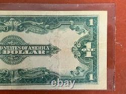 1923 $1 One Dollar Red Seal United States Grand Billet Higher Grade