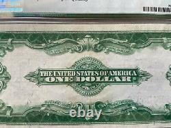 1923 Certificat D'argent 1 $ Un Dollar Bill Certifié Pmg