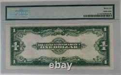 1923 Certificat D'argent D'un Dollar Pmg 35 Choix Étoile Très Fine Grande Note