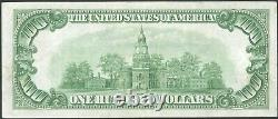 1928 $100 One Hundred Dollar Gold On Demand San Francisco Frn Note