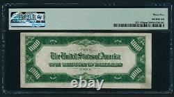 1934 1000 $ Billet D'un Millier De Dollars Devise Encaisse Note Argent Pmg Vf 35