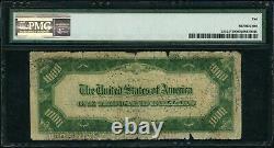 1934 A 1000 $ 1 000 $ Atlanta Federal Reserve Note Pmg Vg 10 Fr#2212f