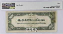 1934a Chicago 1000 $ Billet De Mille Dollars Réserve Fédérale Note Pmg Vf 20 Net
