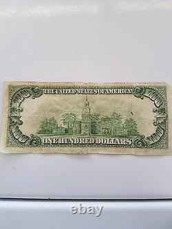 1950d $ 100 Un Cent Dollar Bill Grand État