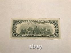 1963 Une Série $100 Star Note One Hundred Dollar Bill Very Low Serial # Very Nice