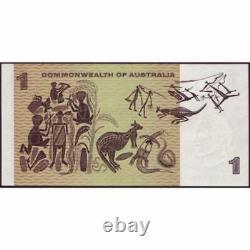 1969 Australie R. 73s Un Dollar Étoile Note Phillips/randall Australien Décimal B