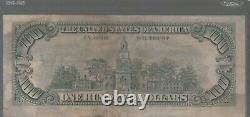 1977 (e) 100 $ Un Cent Dollars Bill Federal Reserve Note Richmond Vintage Old