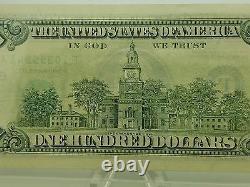 1990 Cent Mille Dollars De Billets Série De Notes De Réserve Fédérale Strike Supplémentaire