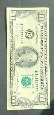 1990 (i) Note De La Réserve Fédérale Cent Dollars Bil