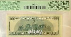 1996 100 $ Étoile Une Centaine De Dollars Réserve Fédérale Note Pcgs 67ppq Superbe Gem Nouveau
