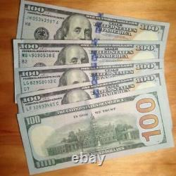 $500 Cash 5 One Hundred Dollar Bills Series 2009 2013 2017, Moins Cher Sur Ebay