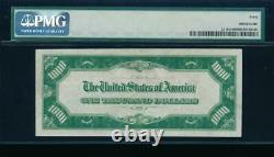 Ac 1928 1000 $ Richmond One MILL Dollar Bill Pmg 40