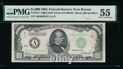 Ac 1934 $1000 Boston One Thousand Dollar Bill Pmg 55 Commentaire