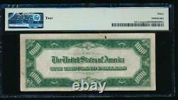 Ac 1934 1000 $ Chicago One MILL Dollar Bill Pmg 30 Commentaire