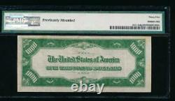 Ac 1934 1000 $ Chicago One MILL Dollar Bill Pmg 35 Commentaire