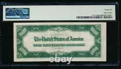 Ac 1934 1000 $ Chicago One MILL Dollar Bill Pmg 35 Note D'erreur
