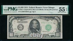 Ac 1934 1000 $ Chicago One MILL Dollar Bill Pmg 55 Epq