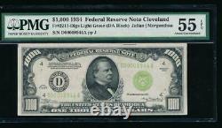 Ac 1934 1000 $ Cleveland Lgs Un Millier Dollar Pmg 55 Epq