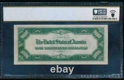 Ac 1934a 1000 $ Chicago One MILL Dollar Bill Pcgs 63 Ppq Non Circulé