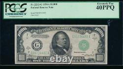 Ac 1934a 1000 $ Chicago One Milland Dollar Bill Pcgs 40 Ppq