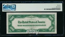 Ac 1934a $1000 Cleveland One Thousand Dollar Bill Pmg 55
