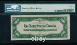 Ac 1934a 1000 $ Richmond One MILL Dollar Bill Pmg 45 Epq