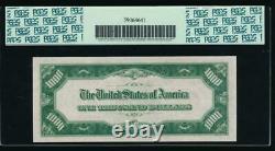 Ac 1934a 1000 $ Saint Louis One MILL Dollar Bill Pcgs 64 Non Circulé