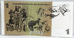 Australie 1968. Un Billet De 1 Dollar. C'est Le Starnote Du Collectionneur. Trio Consécutif