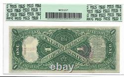 Certifié Pcgs 1917 États-unis Note D'un Dollar