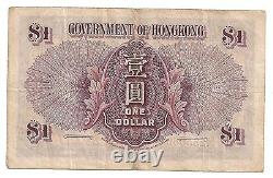 Chine Gouvernement De Hong Kong One 1 Dollar Note 1936 George VI P312