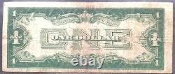 États-unis 1 Dollar 1928 États-unis Note Sceau Rouge Selten Schein One Banknote #11896