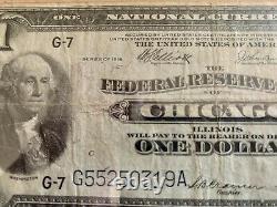 Note D'aigle Vert À Un Seul Dollar