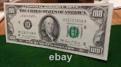 Nous 1969 C Cent Dollars Note De Réserve Fédérale De La Banque St Louis