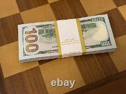 Nouveau Bill Uncent Dollar De 100 $ Non Circulé Dans L'ordre Séquentiel De Bep Réel