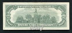 P. 1551 1966-a $100 One Hundred Dollars Legal Tender United States Note Vf+ (b)