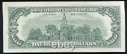 P. 1551 1966-a $100 One Hundred Dollars Red Seal Usn United States Note Xf/au