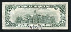 Père. 1550 1966 100 $ Un Cent Dollars Appel D'offres Légal États-unis Note C)