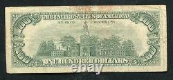 Père. 1550 1966 100 $ Un Cent Dollars Appel D'offres Légal États-unis Note F)