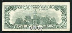 Père. 1550 1966 100 $ Une Centaine De Dollars Appel D'offres Légal États-unis Note Vf+