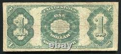 Père. 223 1891 $ 1 $ Certificat D'argent Martha Note De Devise Très Fine