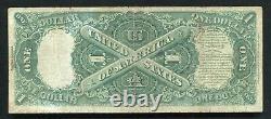 Père. 30 1880 $ 1 Dollar Appel D'offres Légal États-unis Note Très Fine
