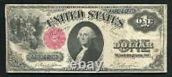 Père. 35 1880 $ 1 Dollar Appel D'offres Légal États-unis Note Very Fine+