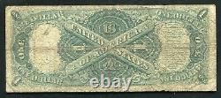 Père. 39 1917 $ 1 Dollar Star Legal Tender États-unis Note