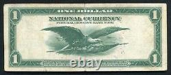 Père. 713 1918 $ 1 Dollar Frbn Federal Reserve Bank Note New York, Ny Vf