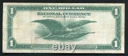 Père. 742 1918 $ 1 Dollar Frbn Federal Reserve Bank Note Dallas, Tx Vf+