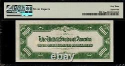 Pmg Choice Unc 63 1934 1000 $ Projet De Loi D'un Millier De Dollars Frn Fr. 2211-g G00083569a