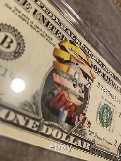 Richie Rich C. R. E. A. M. Impression Numérique Sur Un Dollar Bill Par Super A